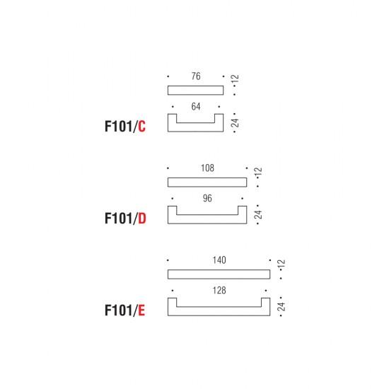 F101/C handle 64mm