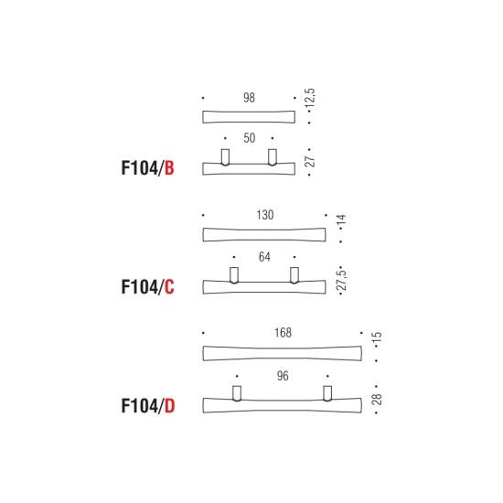 F104/C handle 64mm