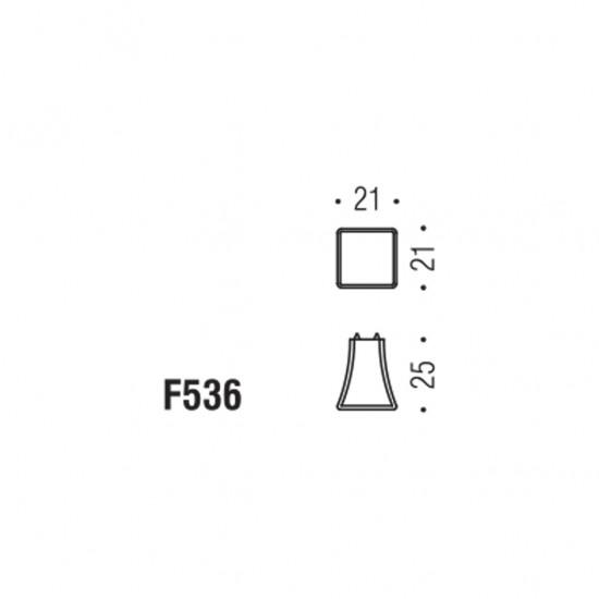 Formae F536 knob