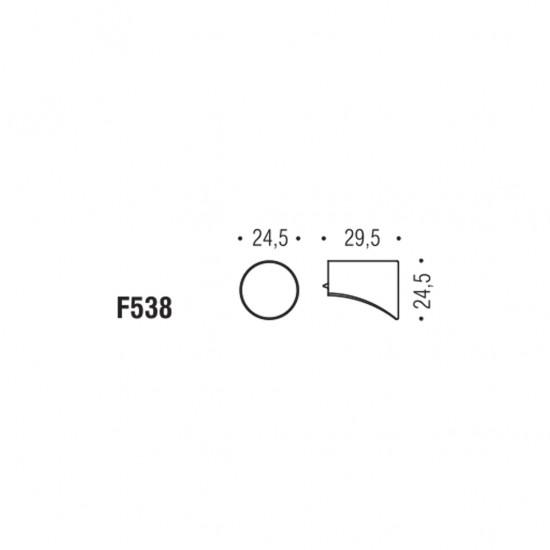 Formae F538 knob
