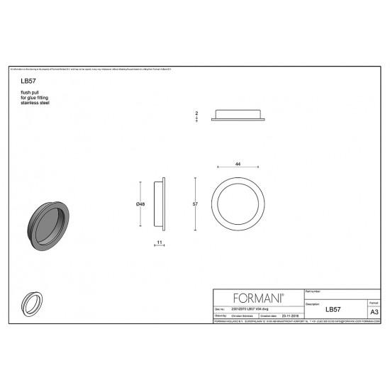 Basics LB57 Flush Pull
