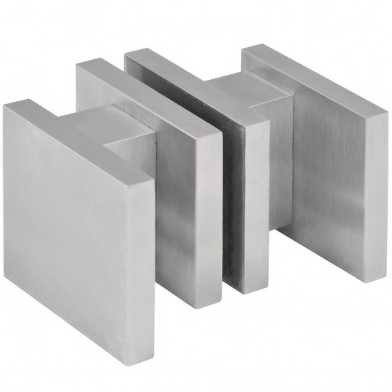 Square LSQ60G Glass Door Handle