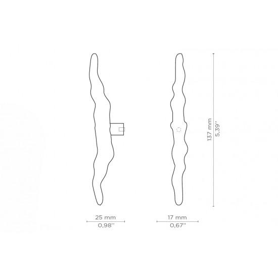 Nouveau 1015 Drawer Handle