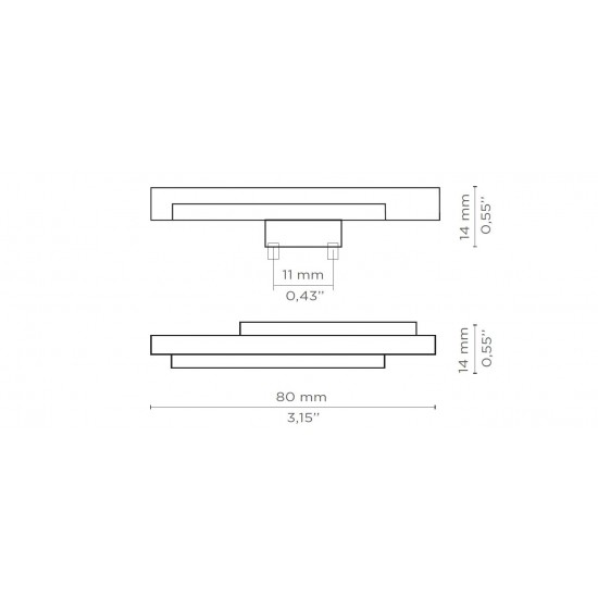 Skyline Drawer Handle