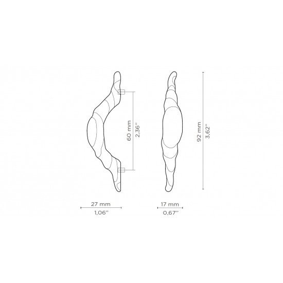 Sonoran Drawer Handle - IN STOCK!