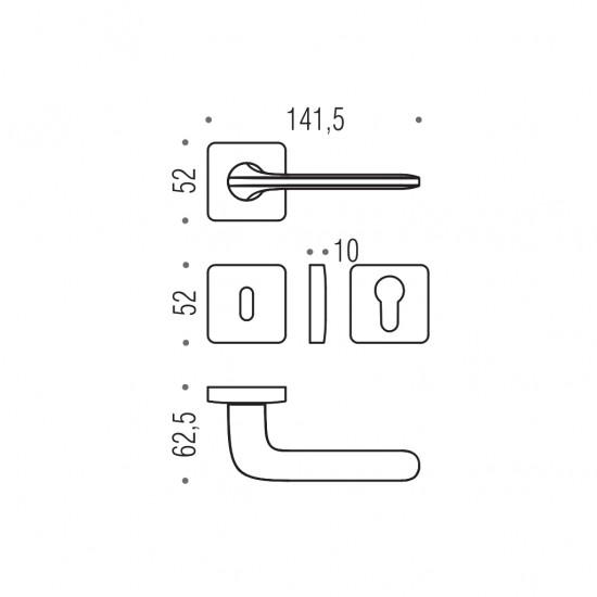 Roboquattro S Door Handle