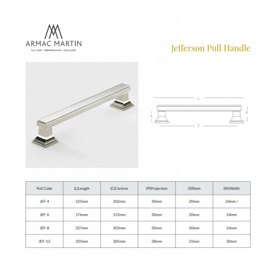 Jefferson 102 Pull Handle