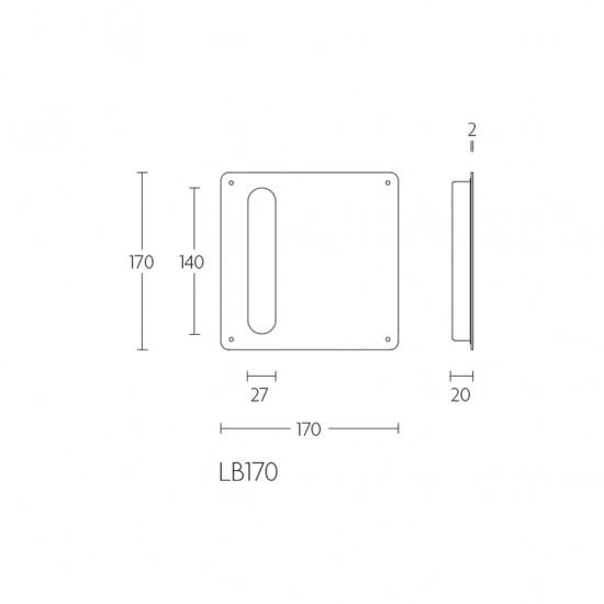 Basics LB170 Flush Pull