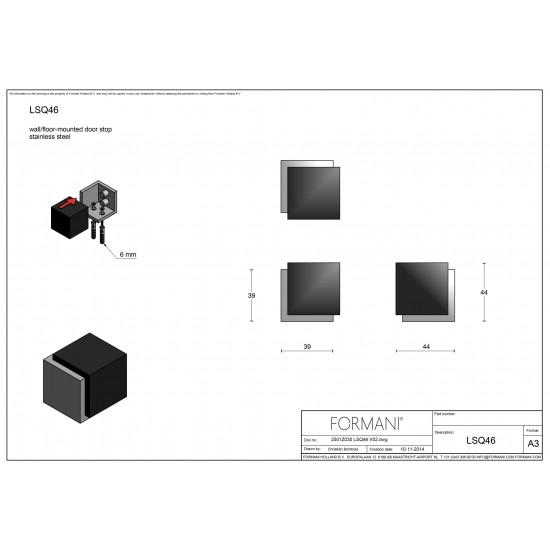 Square LSQ46 Door Stop